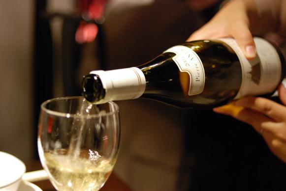 今夜はワインで